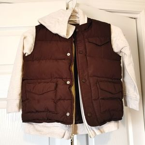 Old Navy Puffer Jacket Hoodie size 5T